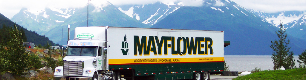 Mayflower Moving Company - Moving to Alaska?